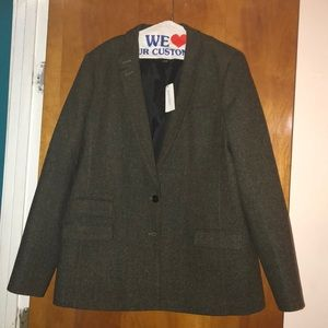 Banana Republic Tweed Hacking Jacket